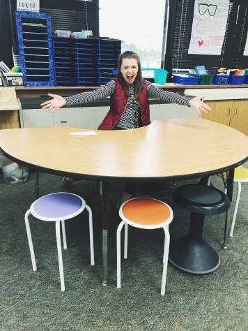 The new table I am freaking out about for my classroom!